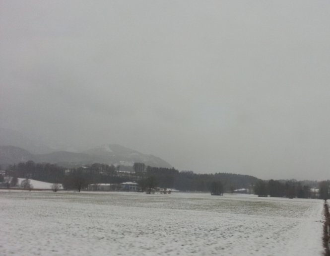 Bayern, Berge, Schnee