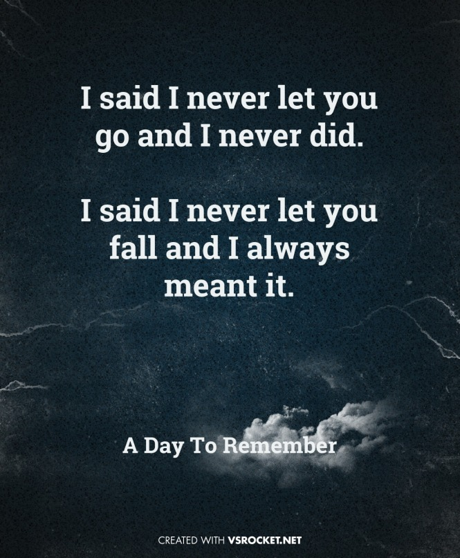 ADTR, Visual Statements, Have faith in me, quotes