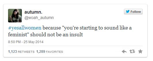 Twitter, Feministin,