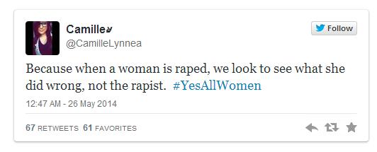 Twitter, Vergewaltigung