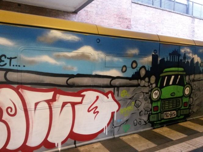 Tag der deutschen Einheit, Graffiti, Street Art