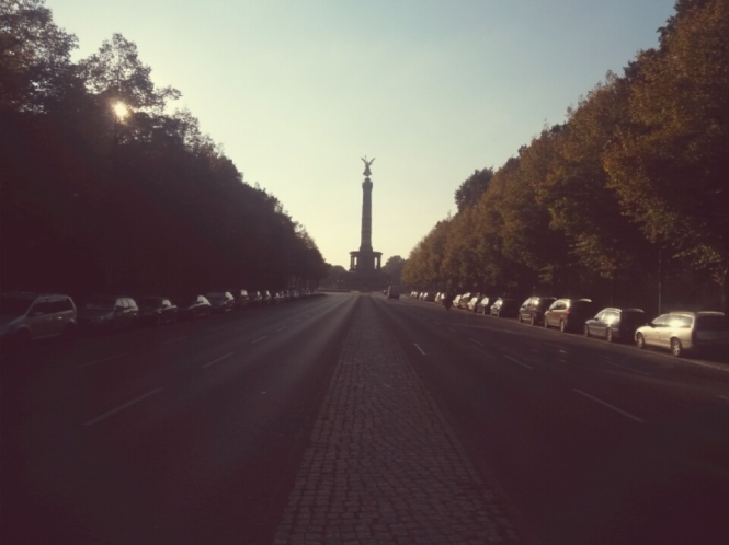 Berlin, Siegessäule, Love Parade