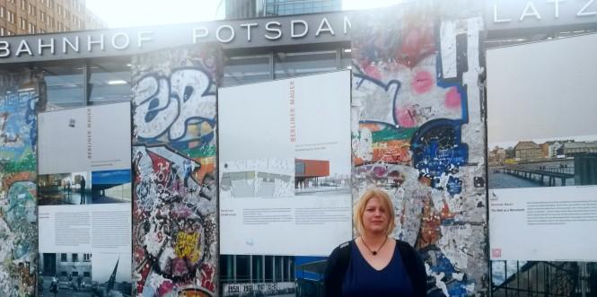 Berliner Mauer, Potsdamer Platz, Geschichte