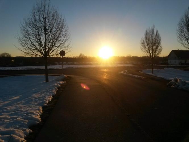 März, Sonne, Morgen, Sonnenaufgang, Schnee, Playlist