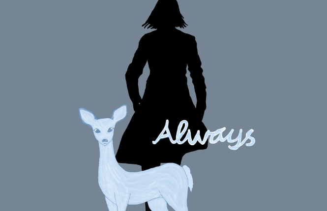 Severus Snape, Always, Harry Potter, Lily, forever, love