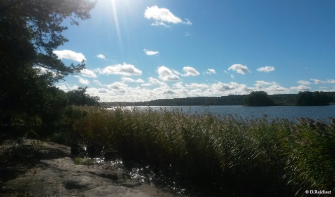 See, Sonnenschein, Gnesta, Schweden