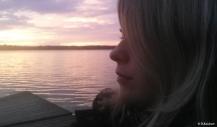 Gnesta, Sonnenuntergang, Schweden