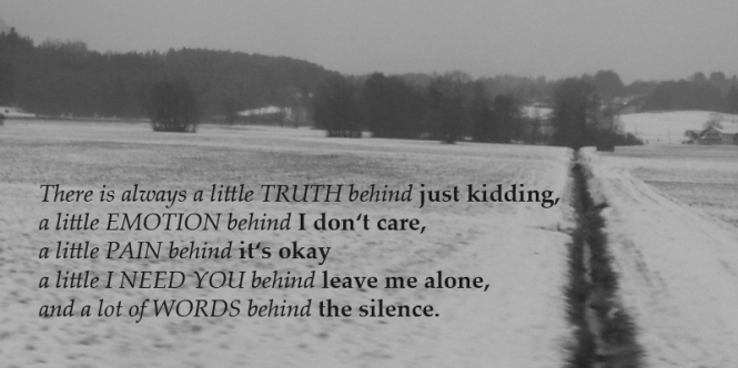 silence, snow, winter