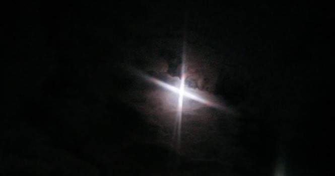 moon, pixel, light