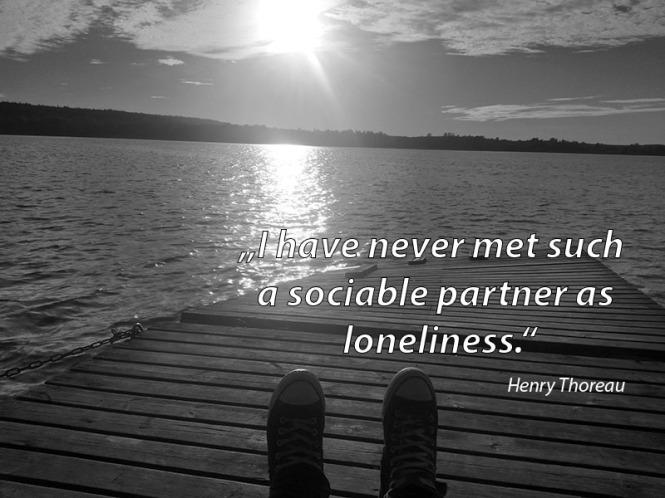 loneliness, Henry Thoreau
