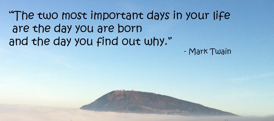 Mark Twain, born, important, purpose in life