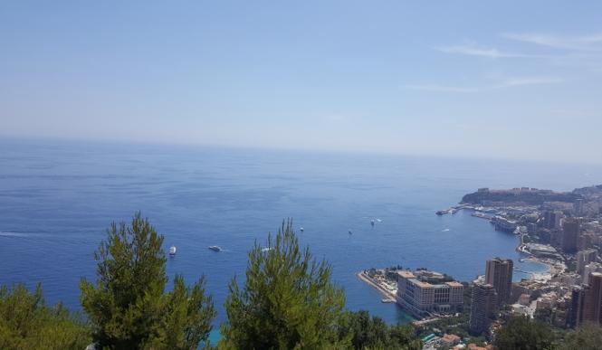 Monaco, Monte Carlo, ocean, city, sea, shore