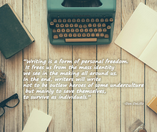 writing, freedom, quote
