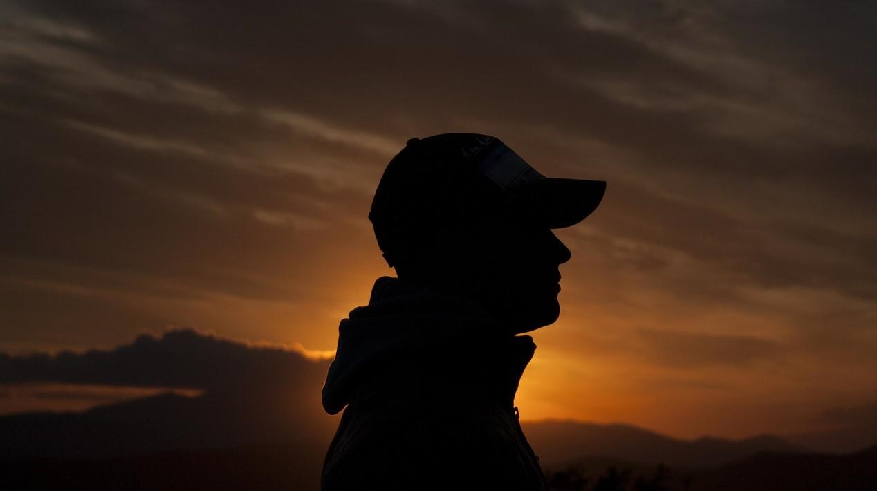 friend, lost, shadow, sunset,