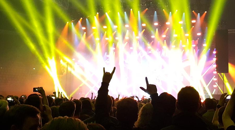concert, live, Metal, In Flames, Sweden